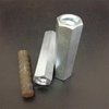 Hex Coupling Nut RB thread White Zinc Plated