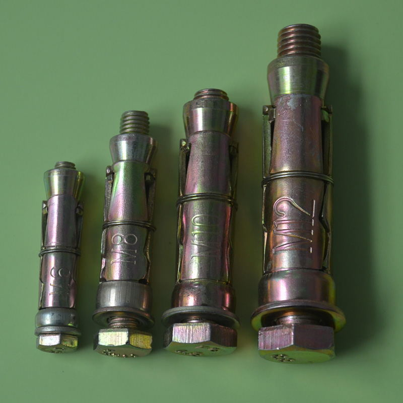 Three Shields Anchor Hex Bolt