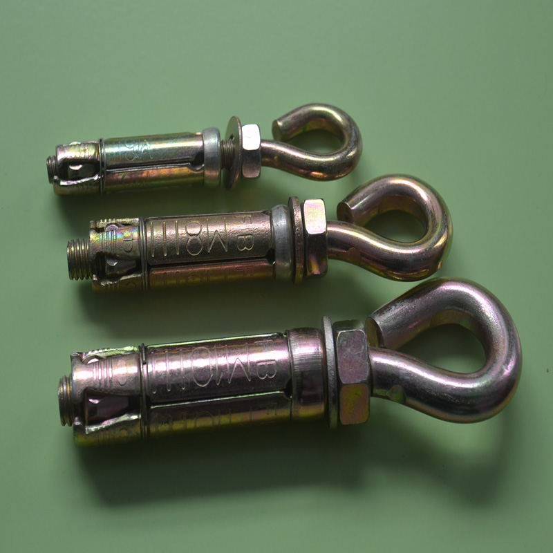 Four Shields Anchor Hook Bolt Eyebolt
