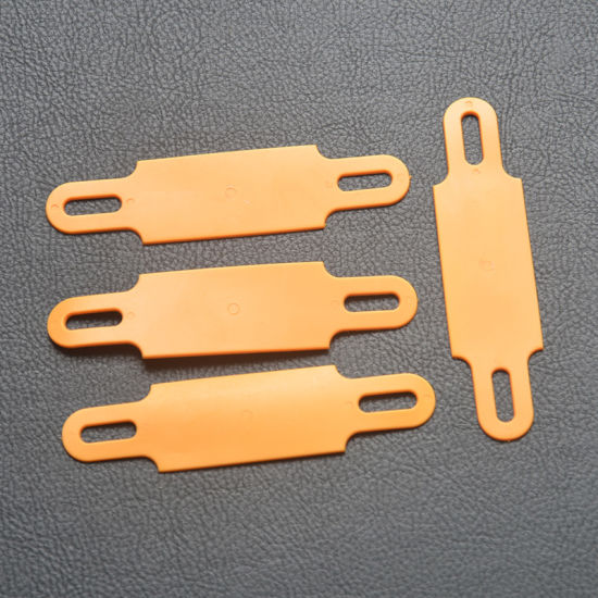 Cable Label in Orange 100mm X 25mm X 1.3mm